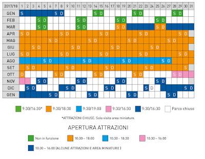 Calendario Italia in Miniatura 2017