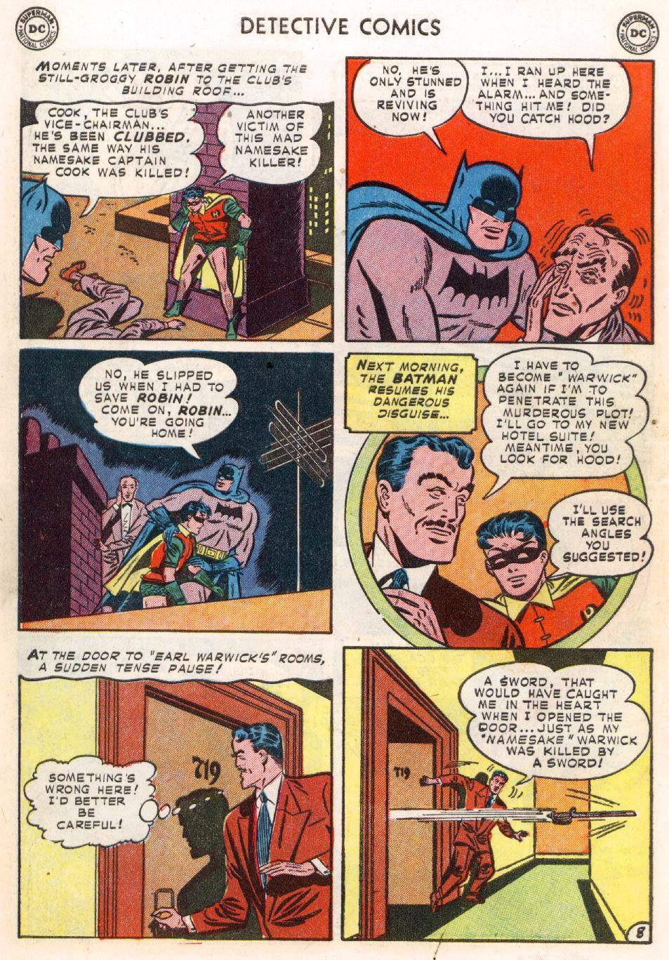 Read online Detective Comics (1937) comic -  Issue #183 - 10