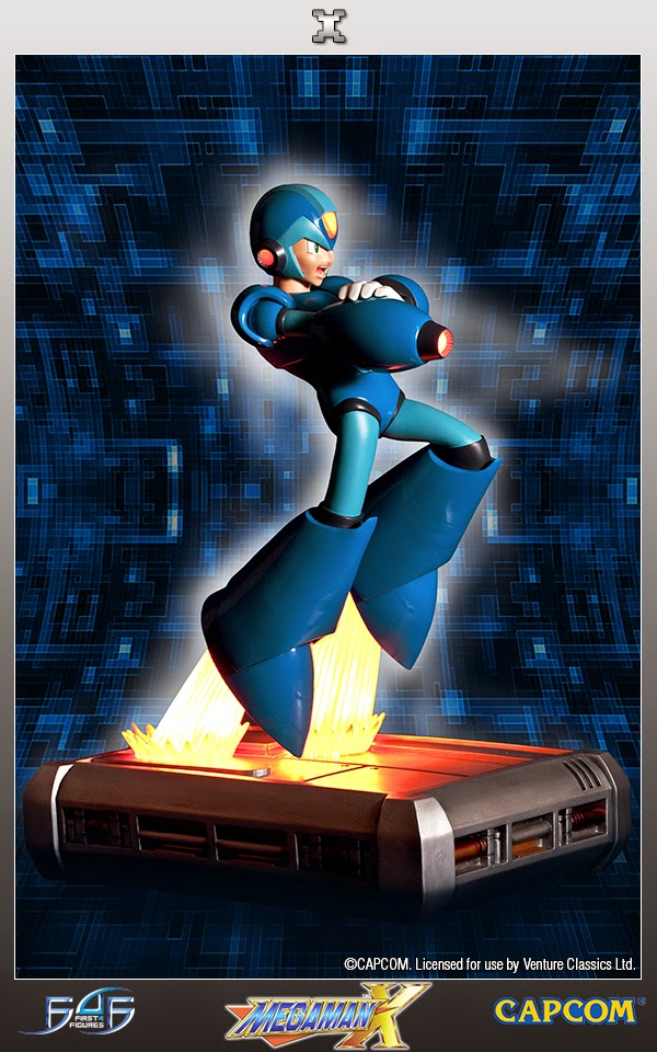 Mega Man X creato dalla First 4 Figures