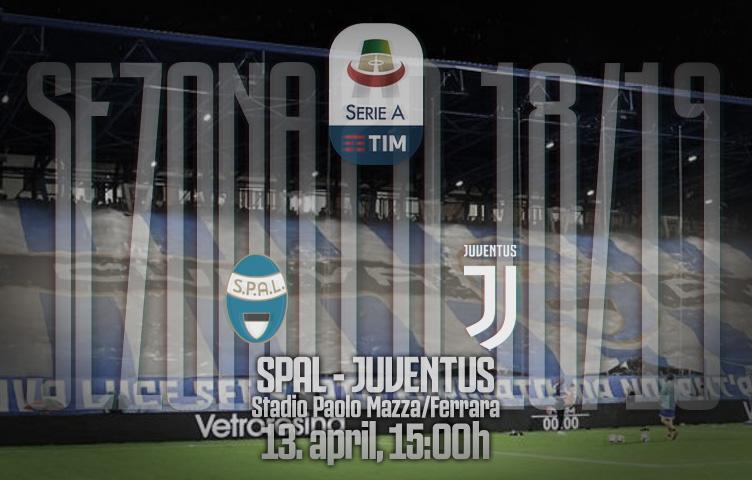 Serie A 2018/19 / 32. kolo / SPAL - Juventus, subota, 15:00h