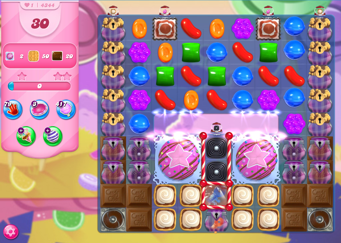 Candy Crush Saga level 4344