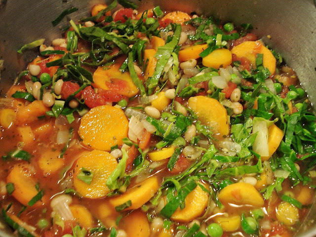 Minestrone Soup without pasta