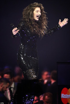 Lorde BRIT AWARDS 2014