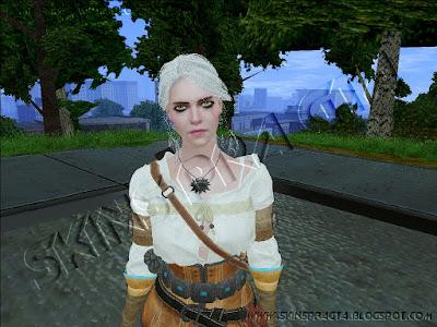GTA SA - Skin Ciri From The Witcher 3 - Wild Hunt