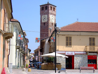 The Civic Tower in the centre of Grugliasco