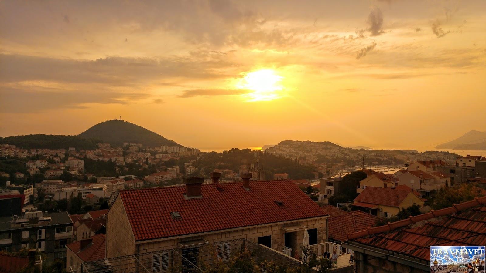 Croatie Dubrvnik  fort Impérial