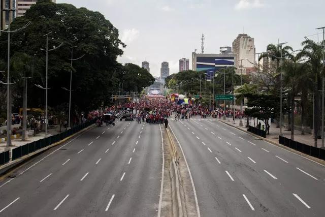 Chavismo no llenó la avenida Bolívar de Caracas este #2Feb