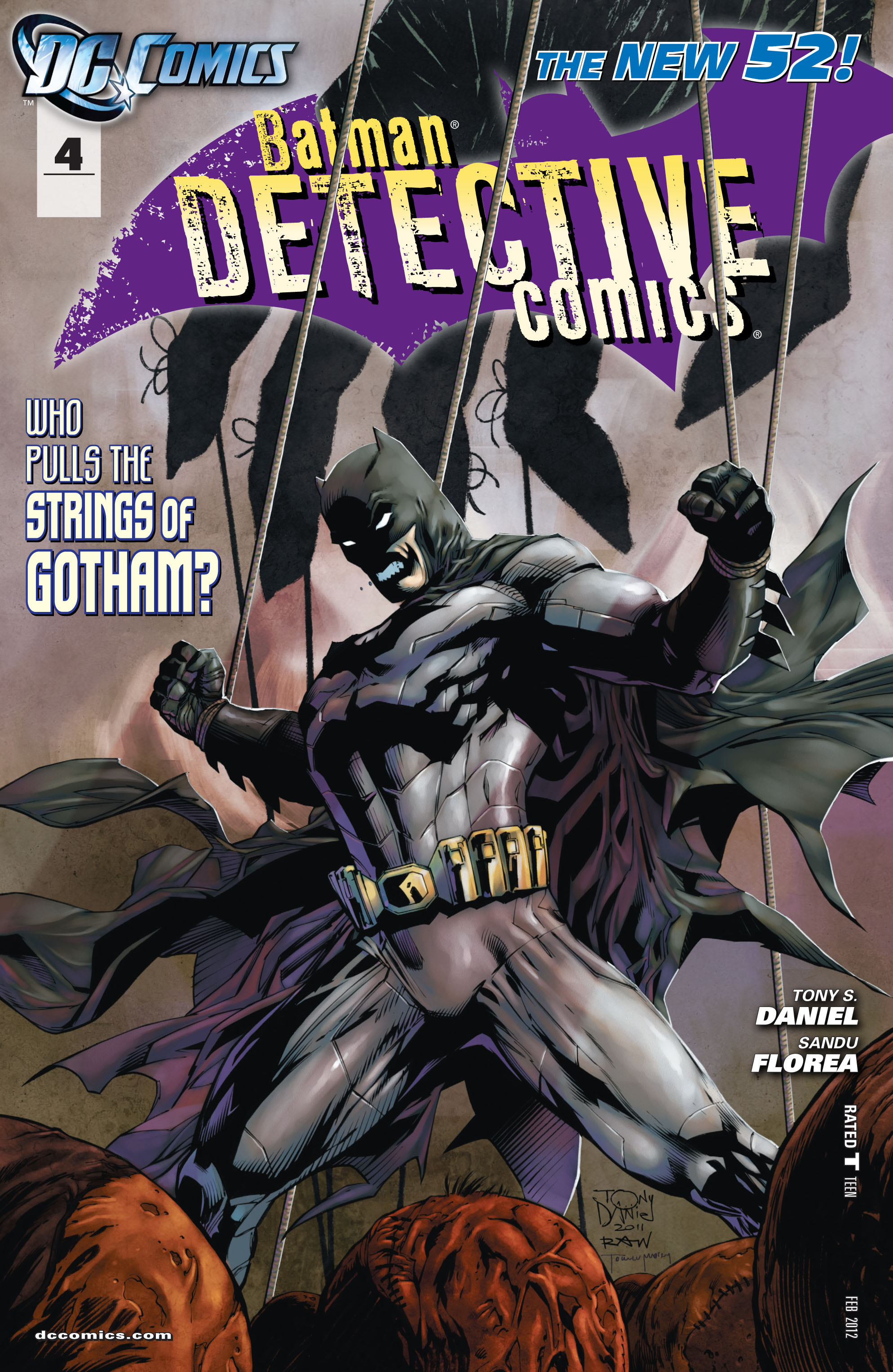 Detective Comics (2011) 4 Page 1