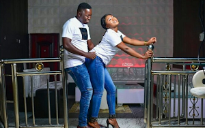 Couple Poses Doggy Style In Stylish Pre-Wedding Shoots At The Night Club
