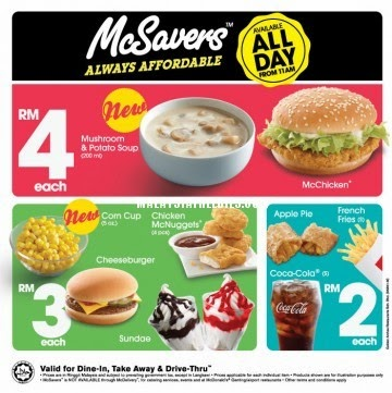 The best thing about McDonald's Malaysia is that it's so affordable, you can have a meal almost every day! Your favorite fast food chain is now even better with the latest McDonald's discounts and promotions courtesy of iPrice Malaysia. Here is how you can take advantage of the promo/5(23).