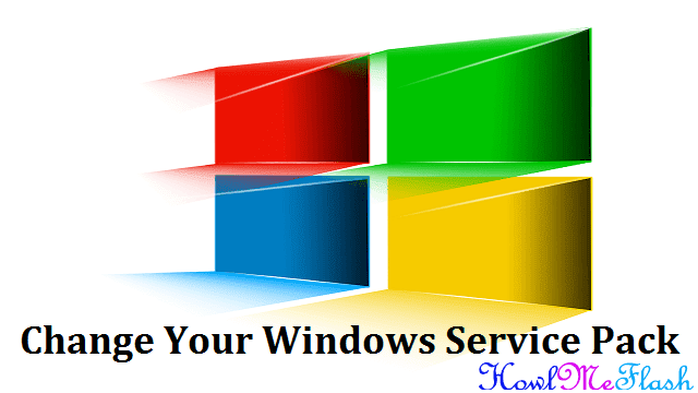 Change Windows Service Pack