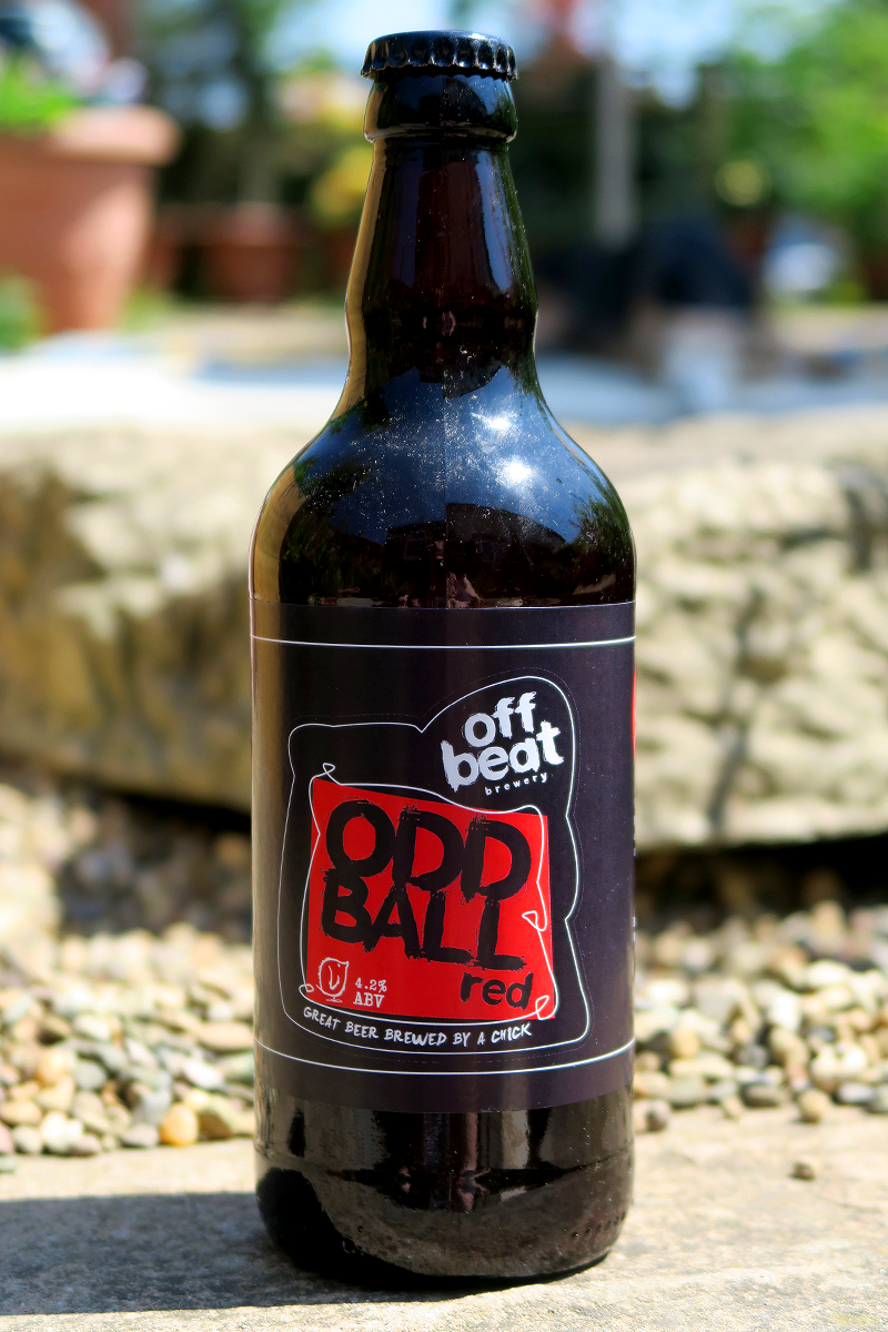 Off Beat Odd Ball Red from The Beer Isle June Subscription Box - North West England