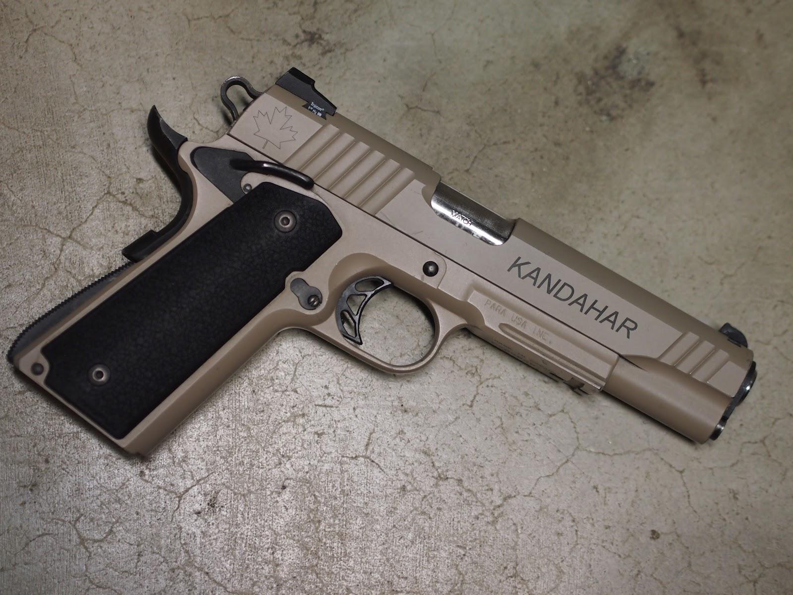 Mister Donut's Firearms Blog: Para Ordinance PXT 745