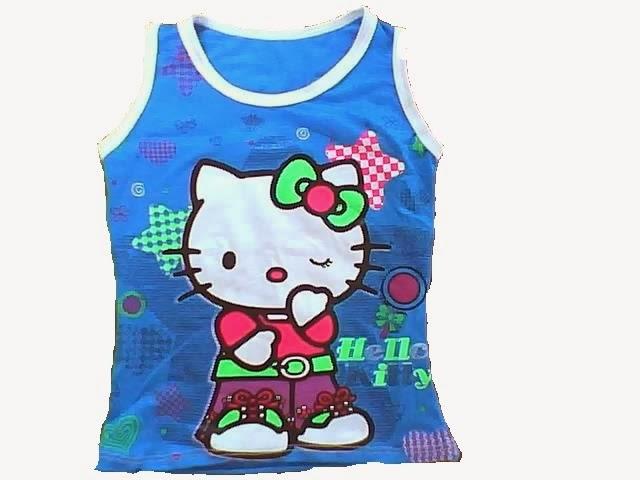 blusa basica infantil en licra