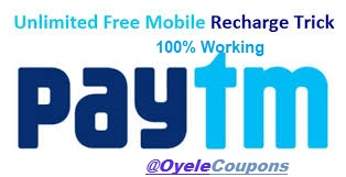 Paytm Unlimited Free Recharge Loot Offer Tricks 2021