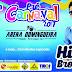 Pré Carnaval na Arena Domingueira será dia 18 de Fevereiro
