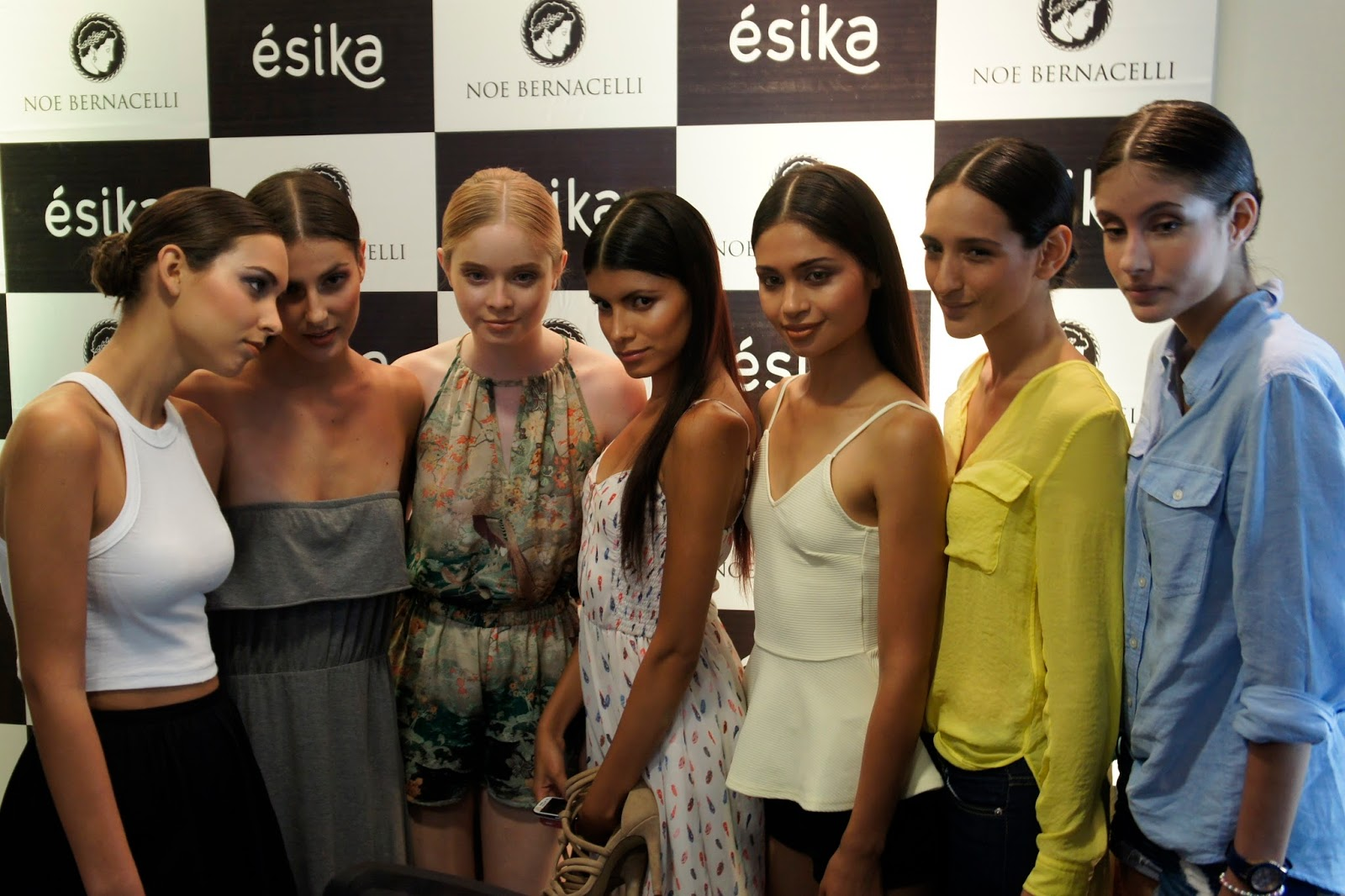 Noe Bernacelli - 727 Collection - Backstage - modelos