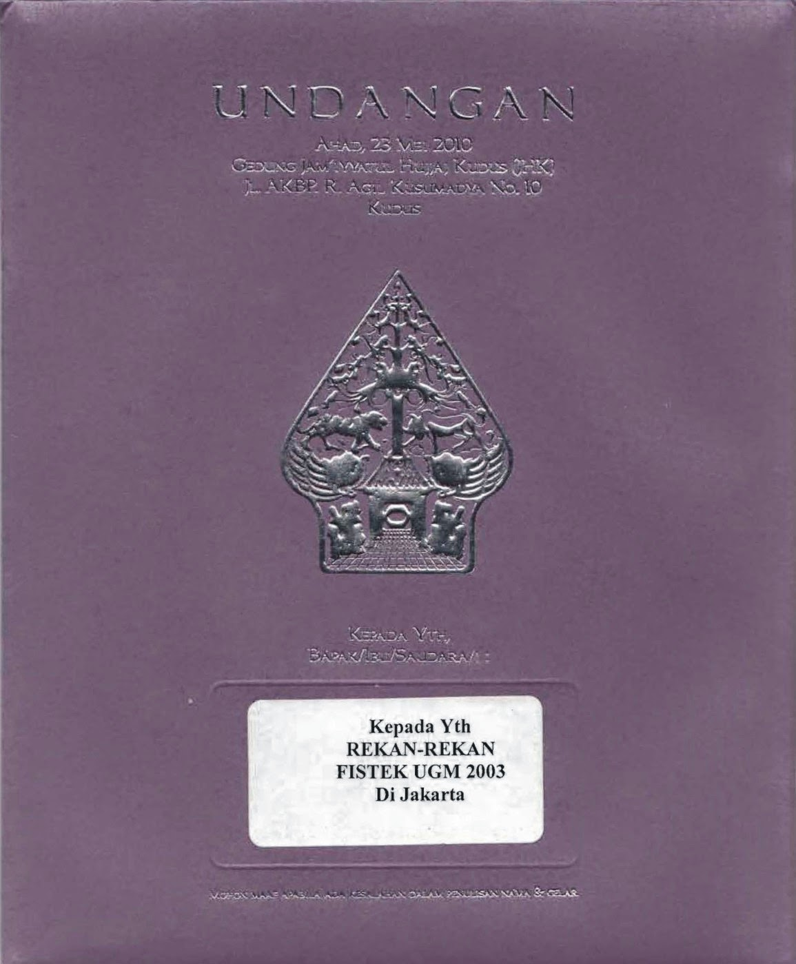 Contoh Desain Undangan Pernikahan Jawa - Contoh Isi Undangan