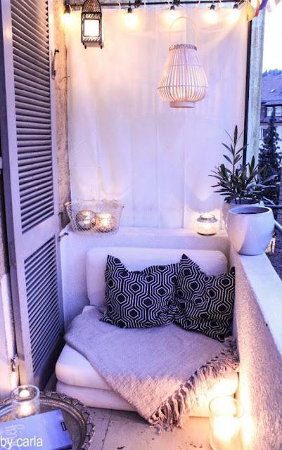 Cómo decorar balcones pequeños-18