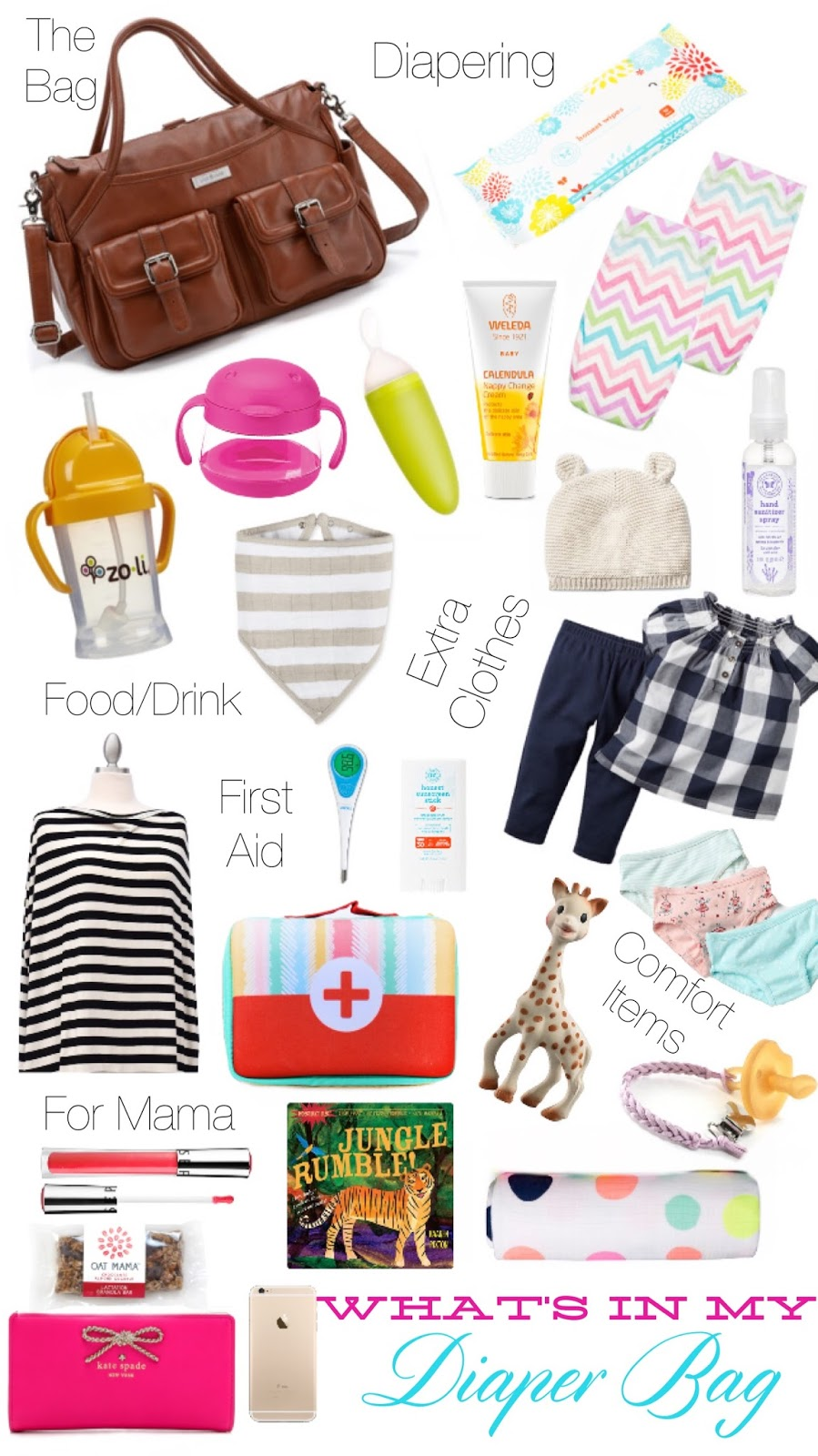 Hello Baby Brown: Whats in my Diaper Bag // Packing for two