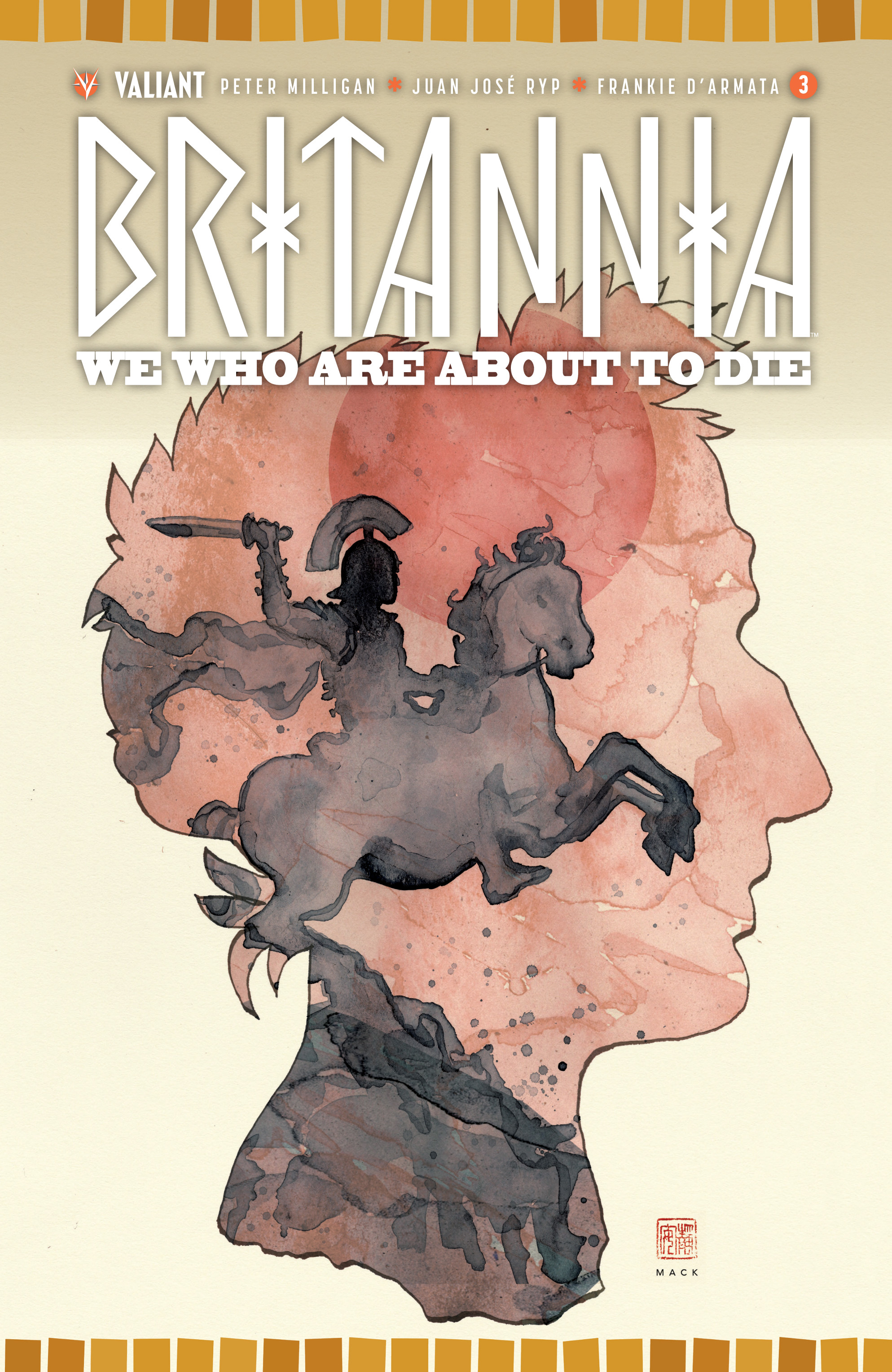 Read online Britannia: We Who Are About To Die comic -  Issue #3 - 1
