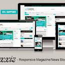 Maxxiz [Lite] Free Responsive Magazine | News Blogger Template