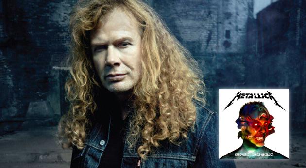 Dave Mustaine habla sobre el nuevo álbum de Metallica