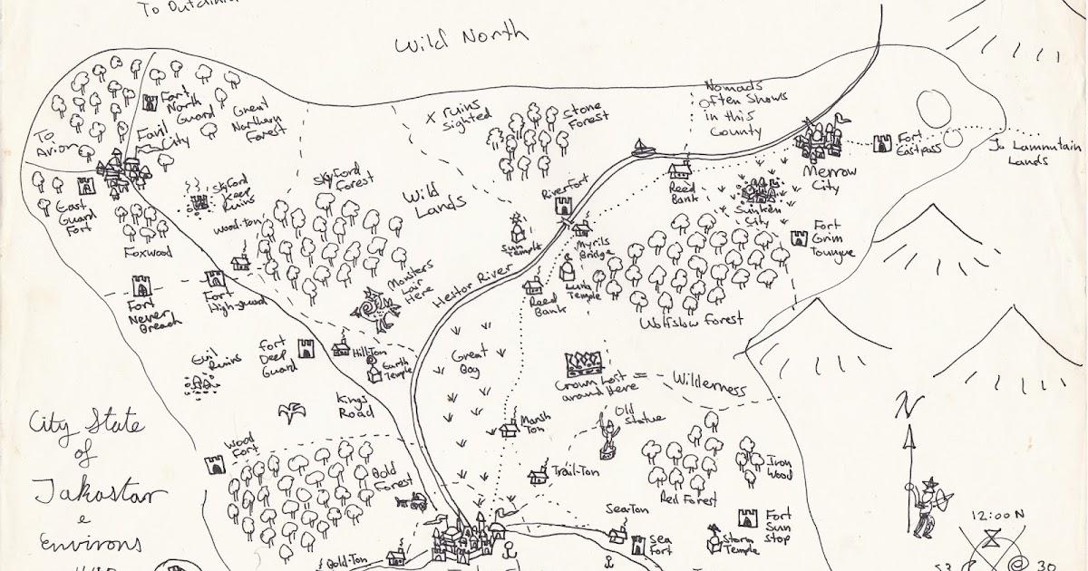 Elfmaids & Octopi: Friday Maps: Barrier Lands