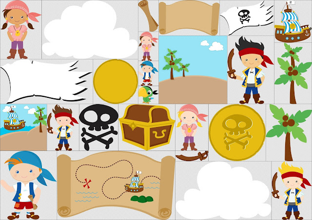 Jake and the Neverland Pirates Clipart.