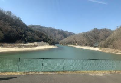 為栗駅付近の天竜川