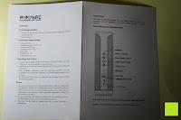 Anleitung: R4mpage RP-1100 Bluetooth Lautsprecher 10Watt mit LED Farbwechselmodus, und Mikrofon für Freisprechfunktion