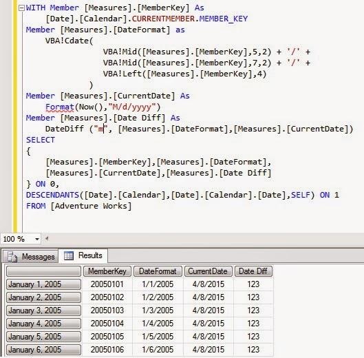 Microsoft OLAP : SSAS (Multi-dimensional, Tabular) , MDX, DAX