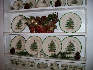 Spode Christmas Tree China in Nook