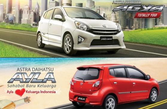 Toyota Agya VS Daihatsu Ayla, Pilih Mana? - Mobil LCGC ...