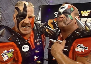 WWE / WWF - Summerslam 1997 - The Legion of Doom faced The Godwins