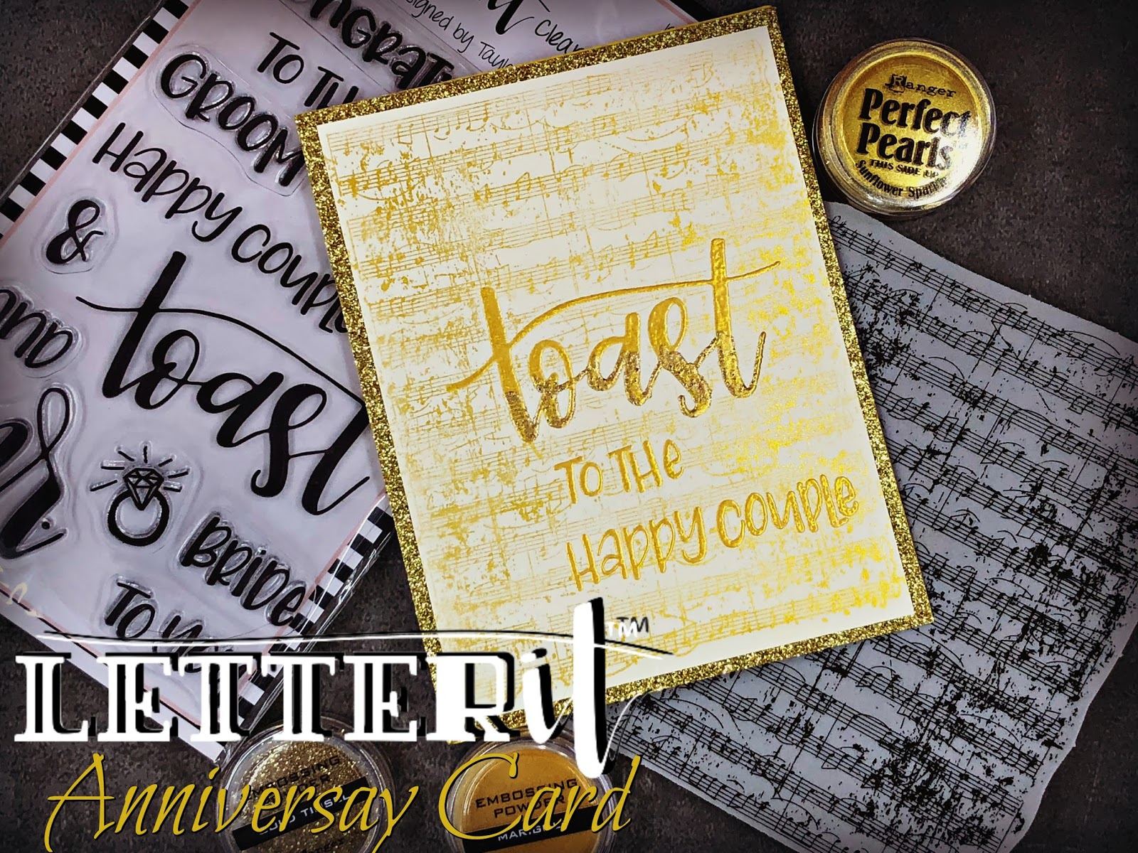 Ranger letter it anniversary card ken s kreations