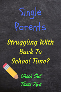 single parent, back to school, kids, parenting