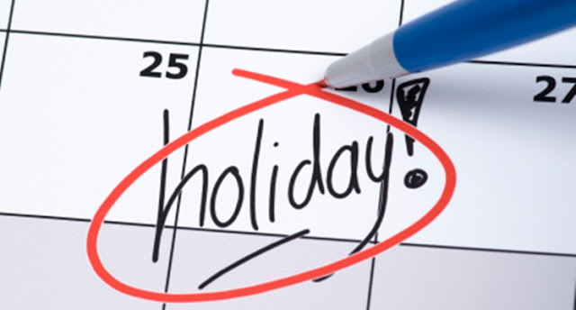 Kalendar Cuti Umum Tahun 2018