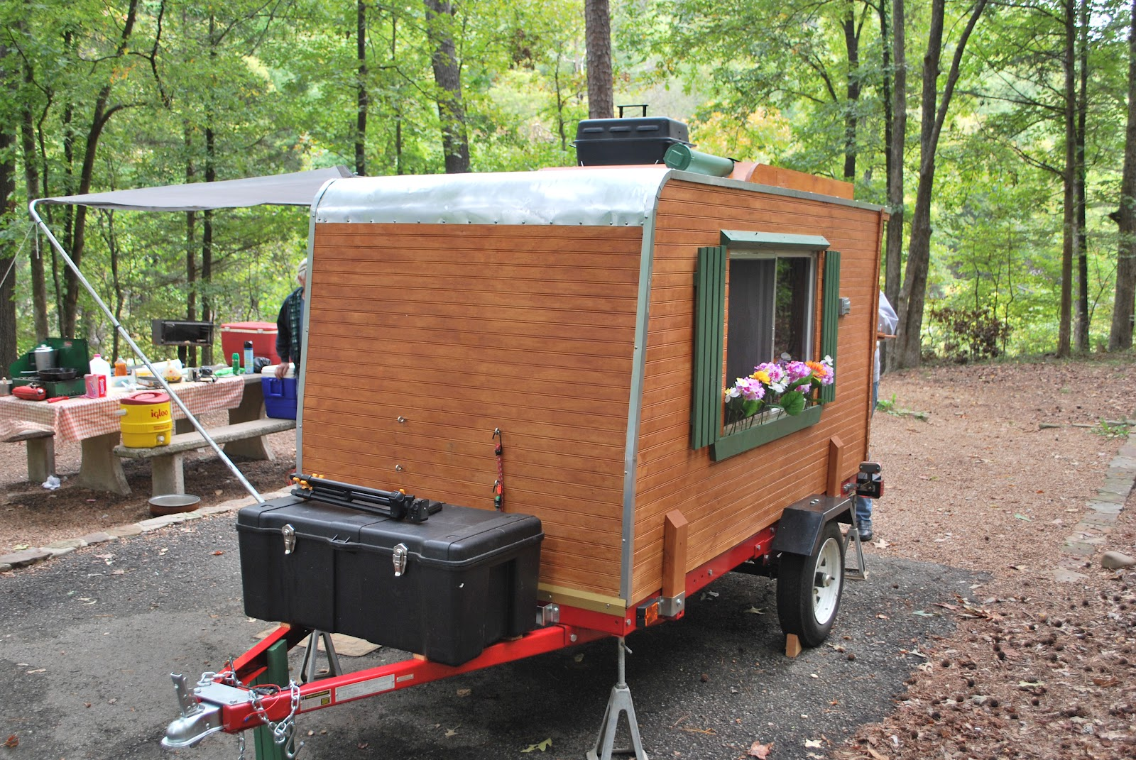Teardrop Trailer Floor Plans Camper Trailer Plans Harbor Freight Pictures To Pin On