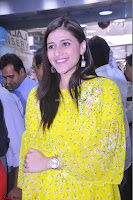 Mannara Chopra Looks Cute in Yellow Salwar Suit ~  Exclusive 18.JPG