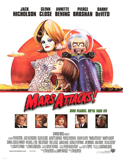 Ver ¡Marcianos al ataque! (Mars Attacks!) (1996) Online