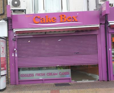 Eggless Cake Box Green Street