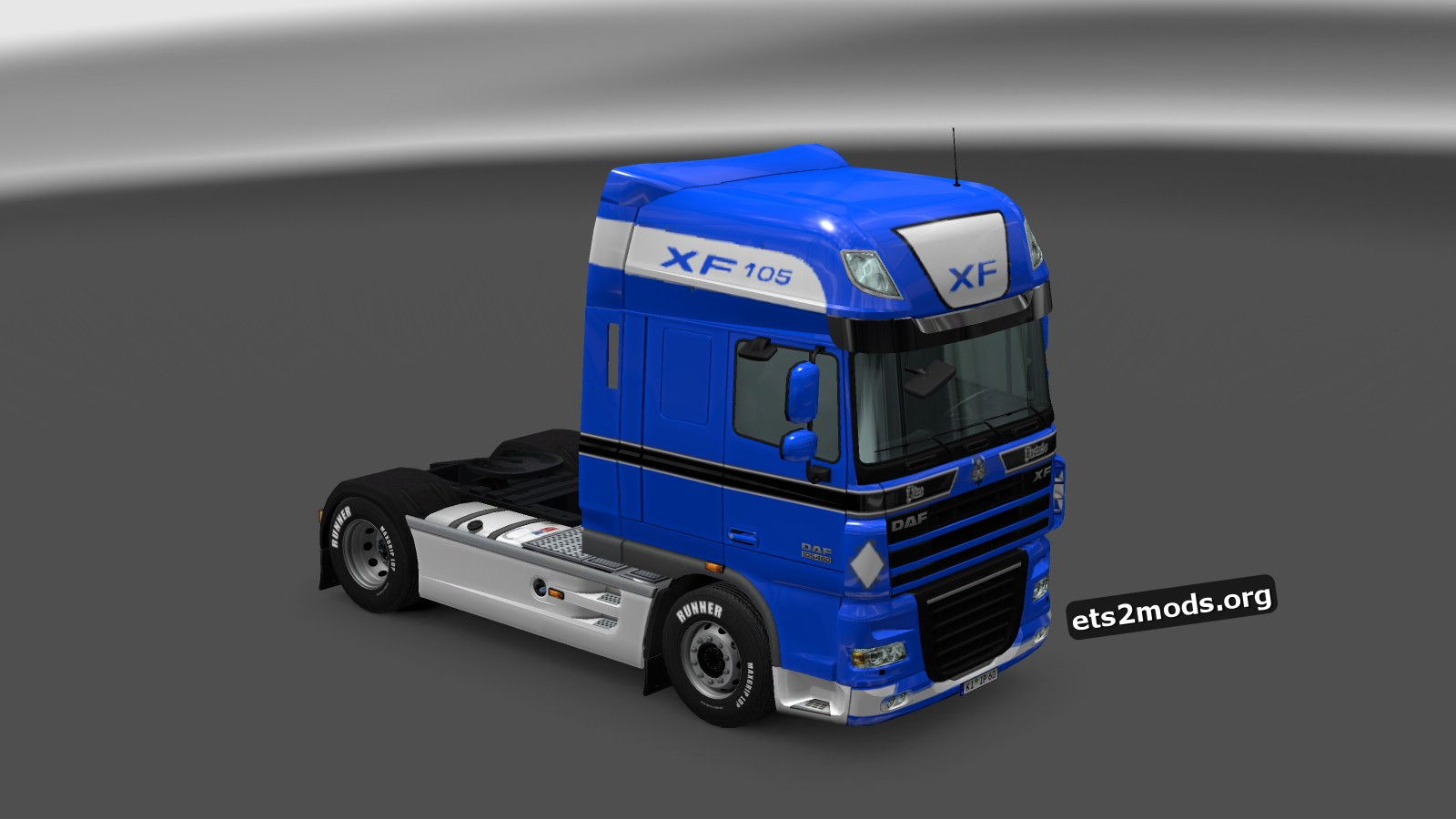 DAF 50K Blue Bastards Skin