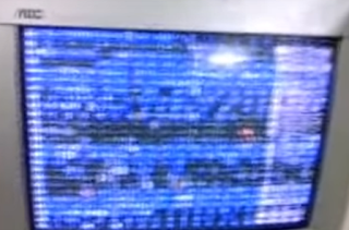 Garbage Display Failure of Computer