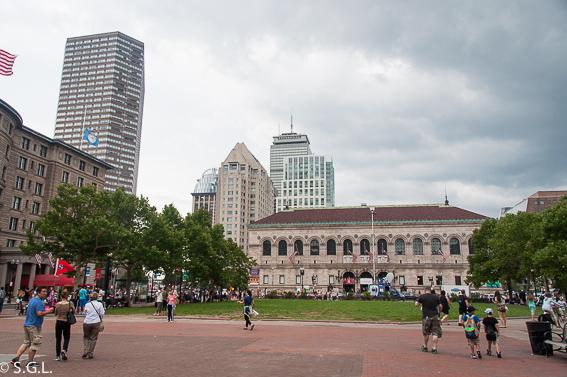 Copley plaza. Biblioteca. 10 cosas que ver en Boston
