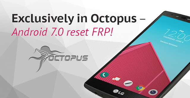 Octoplus/Octopus Box LG v 2 8 2 - Reset FRP for G5, G6, V20 and more