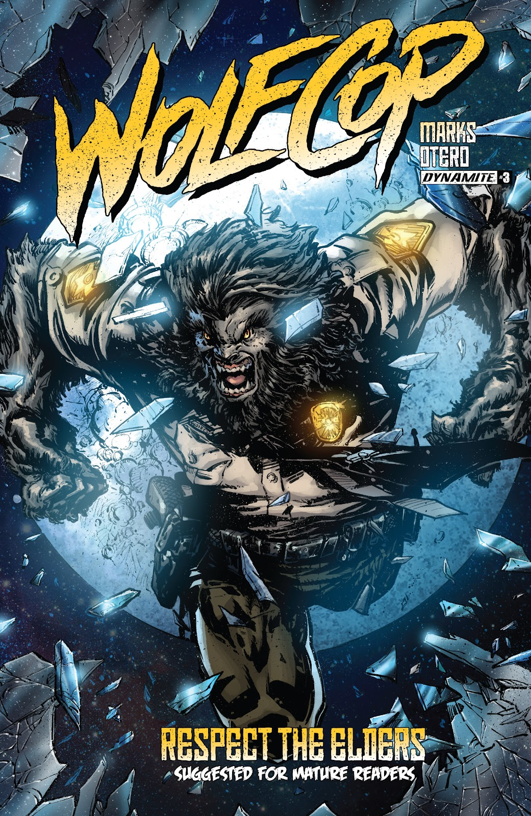 Wolfcop 3 Page 1