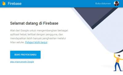 firebase alternatif pengganti layanan web hosting