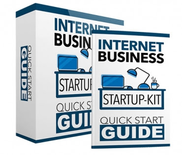 Internet business startup kit - Start your online business journey - Free ebook