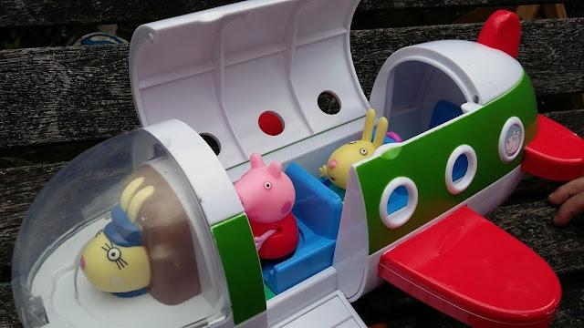 Classic Peppa Pig Toys - Air Peppa Jet